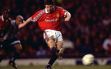 Manchester United v Middlesbrough , FA Cup 3rd round  3/1/99 Mandatory Credit:Action Images Manchester's Denis Irwin scores 2nd from penalty