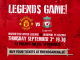 Supporterträff inför Manchester United Legends – Liverpool FC Legends i Stockholm den 3 september